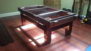 Pool and billiard table set ups and installations in Seattle Washington